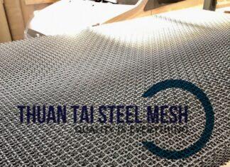 Lưới thép đan mạ kẽm